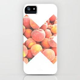 X Durazno iPhone Case
