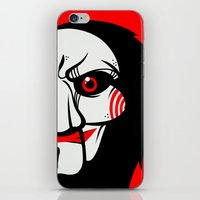 butcher billy iPhone & iPod Skins featuring Billy by Artistic Dyslexia
