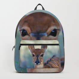 Nyala deer photo Backpack