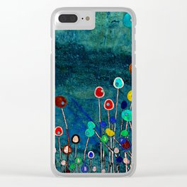 Spring Meadow Clear iPhone Case