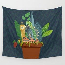London Garden Wall Tapestry