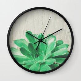 Green Thumb Wall Clock
