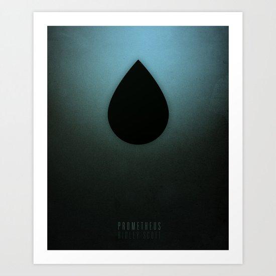 Smooth Minimal - Prometheus Art Print