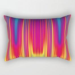 Hot and cold blur pattern Rectangular Pillow