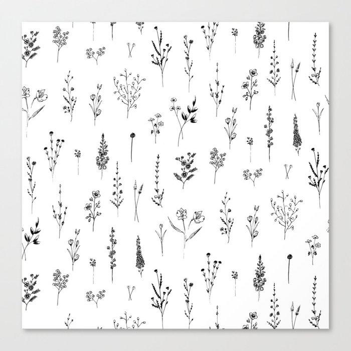 Wildflowers Leinwanddruck