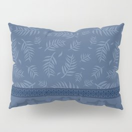 BLUE LEAF WEIM Pillow Sham