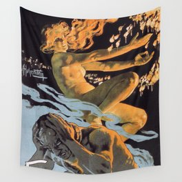 Italian society for the hygienic matches without phosphorus Wall Tapestry