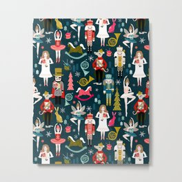 Nutcracker Ballet by Andrea Lauren  Metal Print