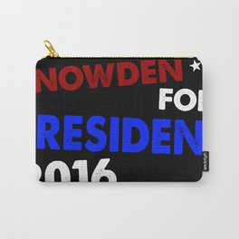 Snowden For President 2016 Carry-All Pouch