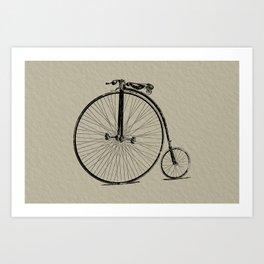 19th Century Bicycle Art Print