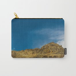 Orange and Blue Carry-All Pouch