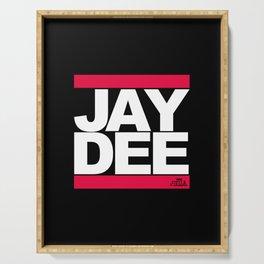 JAY DEE aka JDILLA (RUNDMC tribute) Serving Tray