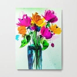 big colorful bouquet Metal Print