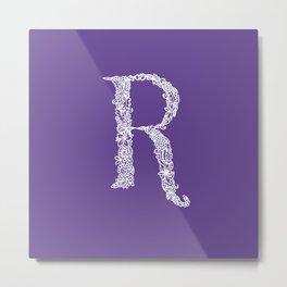 Ultra Violet R Metal Print