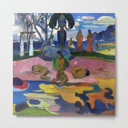 Paul Gauguin Day of the God Metal Print