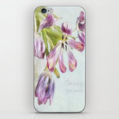 love tulips iPhone & iPod Skin