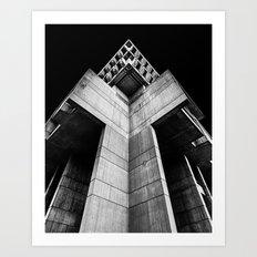 Building 1 Art Print