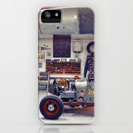 Hot Rod Garage iPhone Case