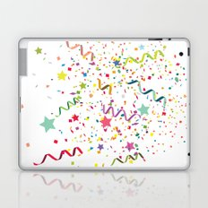 Wishes as Confetti / New Years Confetti. Laptop & iPad Skin