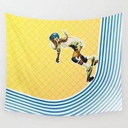 Skate Like a Girl Wall Tapestry