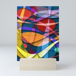 Abstract #358 Mini Art Print