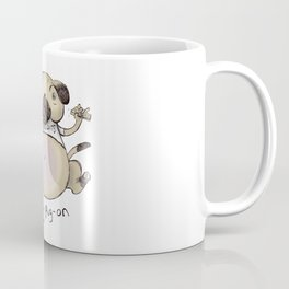 Belly Pug-on Coffee Mug