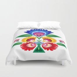 folk flower Duvet Cover