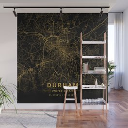 Durham, United States - Gold Wall Mural