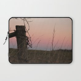 Sunset On A Back Road Laptop Sleeve