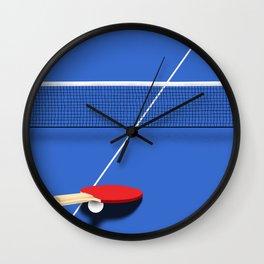 Ping Pong Wall Clock