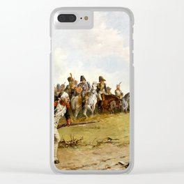 John Pott Laslett The First Sight of Moscow Clear iPhone Case