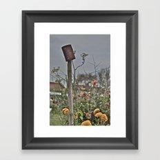 Man Made vs Nature Framed Art Print