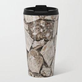 Old Rustic Stone Wall Travel Mug