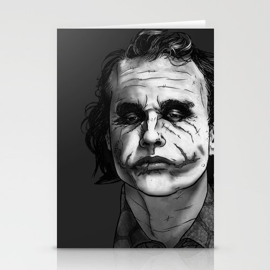 Now I'm Always Smiling // The Dark Knight Stationery Cards