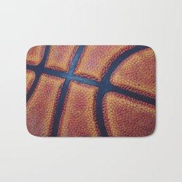 Basketball close-up Bath Mat