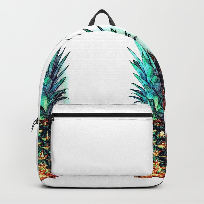 tri soldier pineapples Backpack