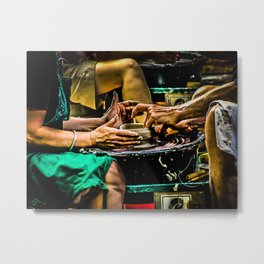 The Potters Wheel Metal Print