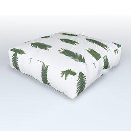 Silver wattle pattern Outdoor Floor Cushion