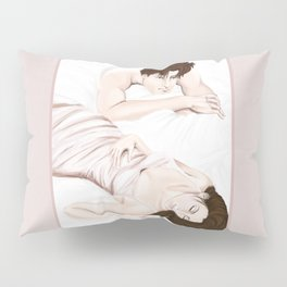 he sees you when you're sleeping Pillow Sham