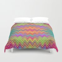 hippy Duvet Covers featuring Hippy 2 by HK Chik