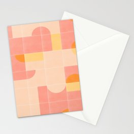 Retro Tiles 02 Stationery Cards