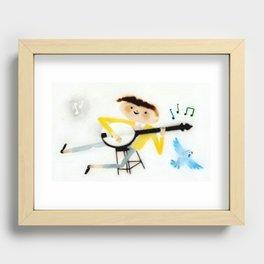 Banjo Recessed Framed Print