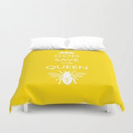 God Save the Queen (Bee) Duvet Cover