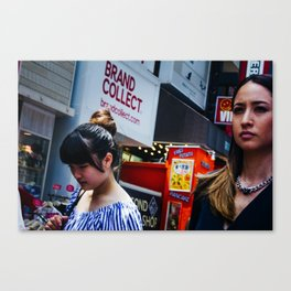 Brand Collect Canvas Print
