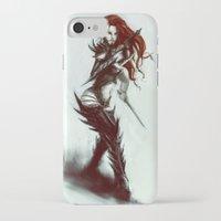 warhammer iPhone & iPod Cases featuring Dark Eldar Hagashin by The Art Of Maik Beiersdorf