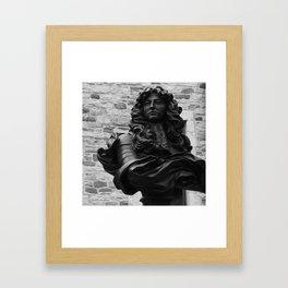 King Louis in Quebec Framed Art Print