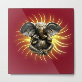 Ganesha,elephant,spiritual symbol  Metal Print