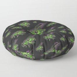 Housefly GHOST GREEN Floor Pillow