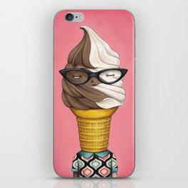 ILL Humored Ice Cream - Chocolate Vanilla Swirl iPhone Skin