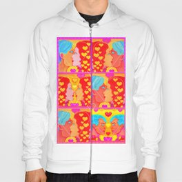 Forms of Love Quilt Hoody